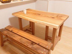 テーブルベンチのセット